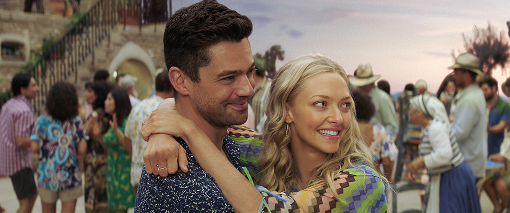 Mamma Mia! Here We Go Again, Dominic Cooper, Amanda Seyfried
